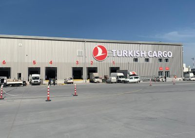 modular logistic center