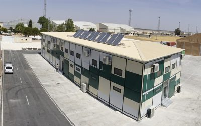 Deployable building is supplied to the Spanish Air Force