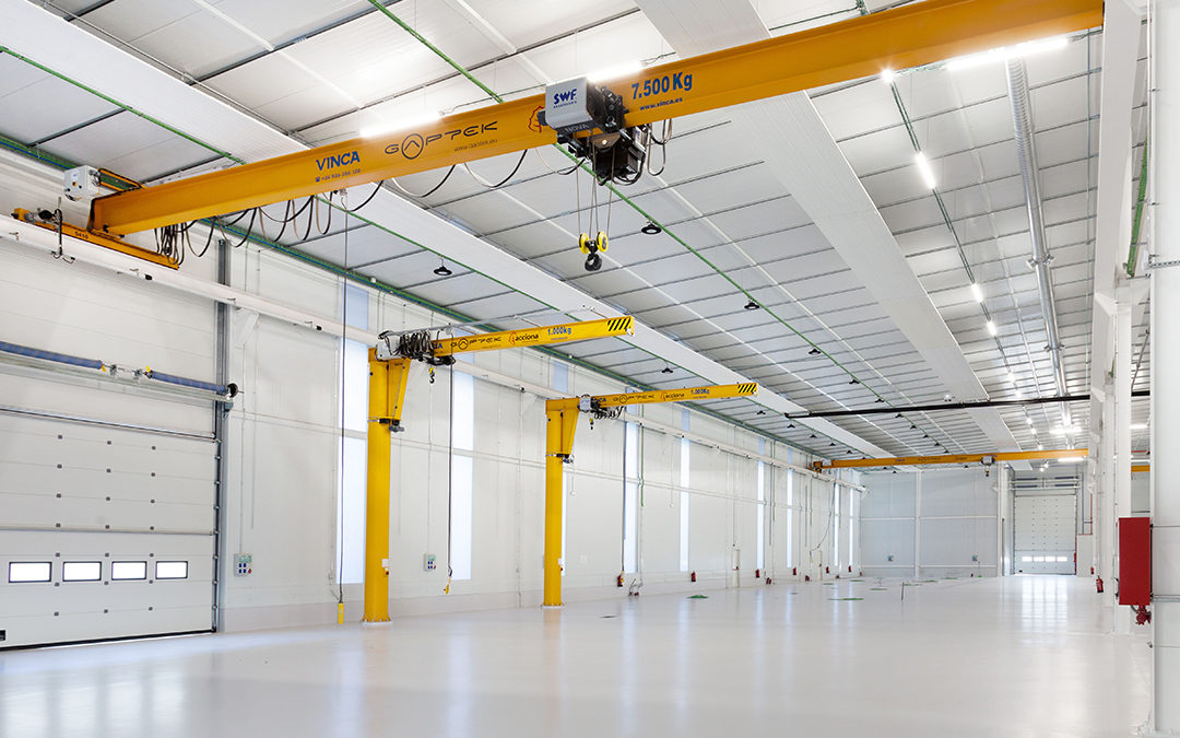Engine maintenance center is delivered to the Spanish Air Force