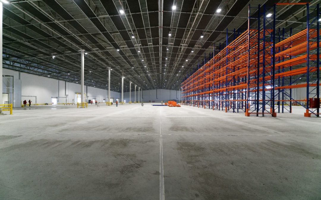 Modular logistic center for Turkish Cargo is into operation