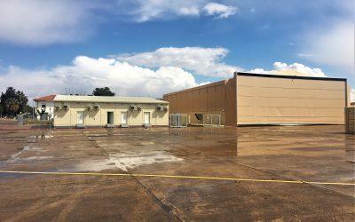 Gaptek entrega un hangar para drones y edificios de soporte a la NSPA