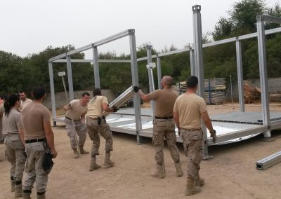 deployable building