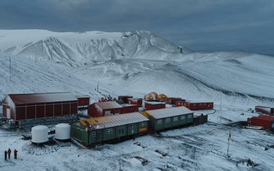 Gaptek pone un pie en la Antártida