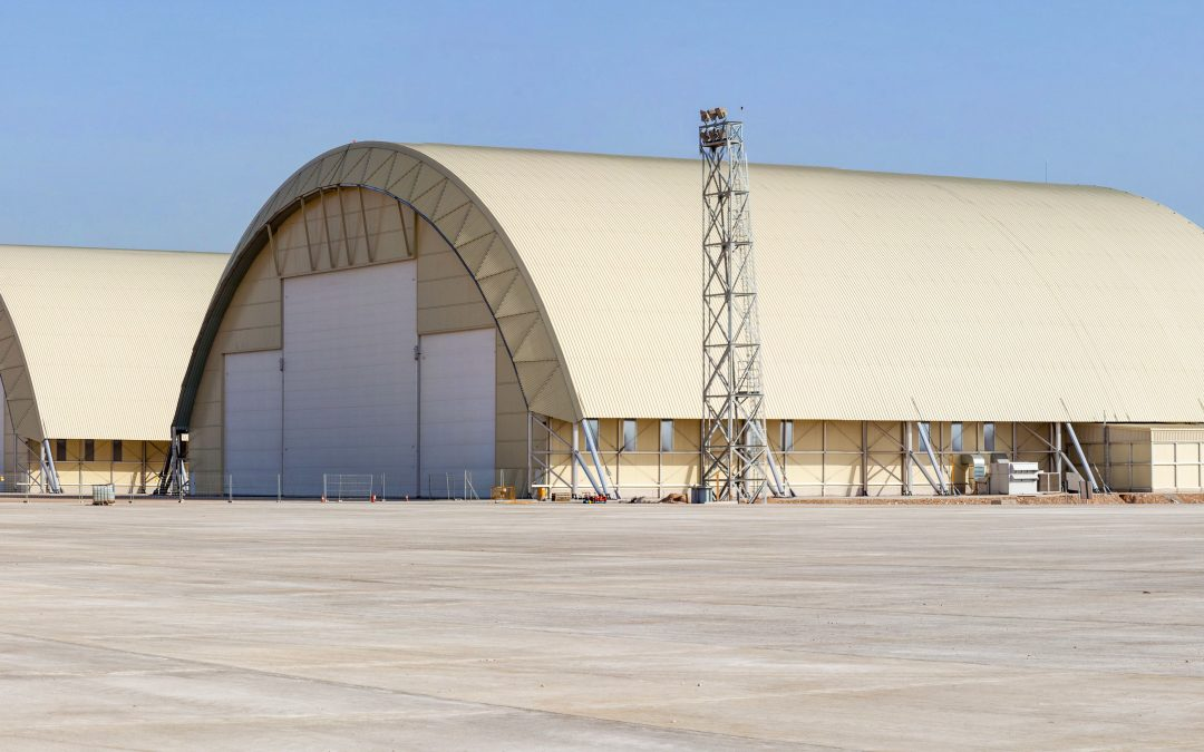 A400M hangars are designed and built by Gaptek
