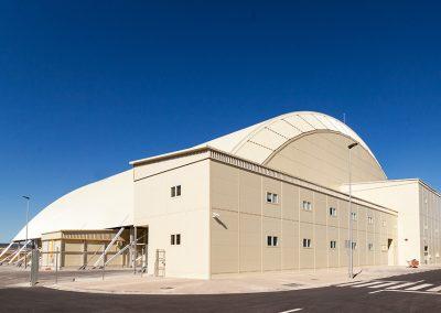 Oficinas modulares hangar