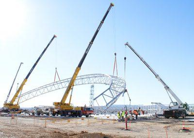 Construcción hangar