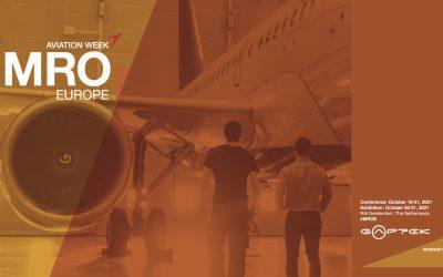Gaptek will be present at MRO Europe 2021